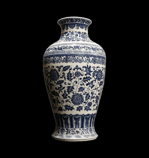 20th Centuary  Chinese Qianlong style porcelain vase