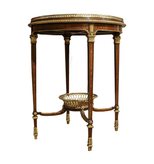 19 century French Mellier and co table