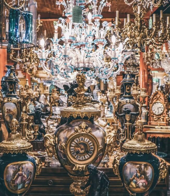 Amazing antique store
