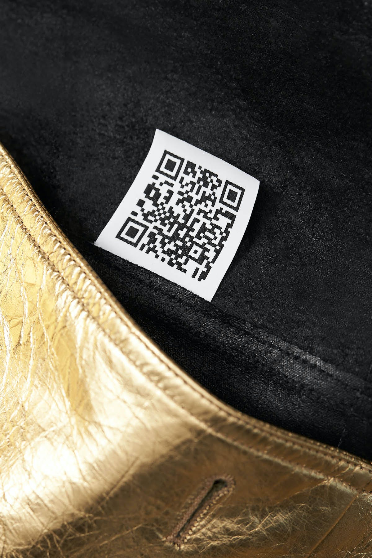 GOLD BONDED LEATHER TRENCH