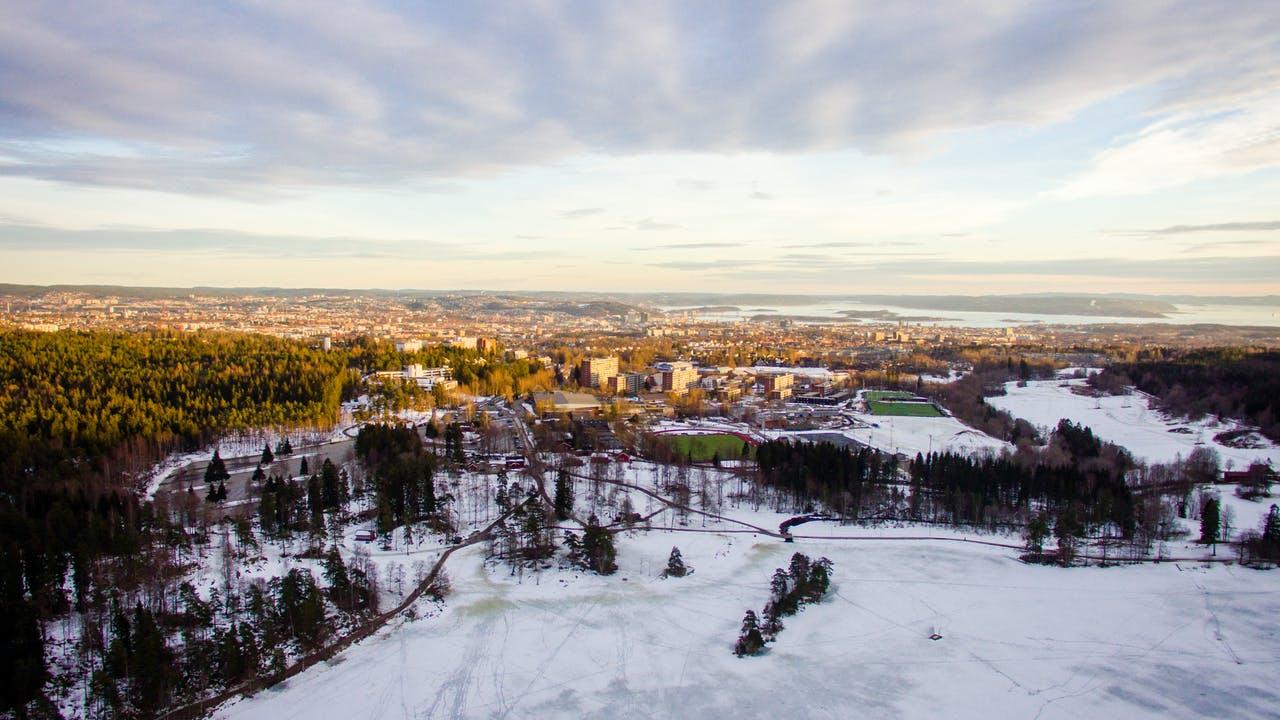 Oslo vinter