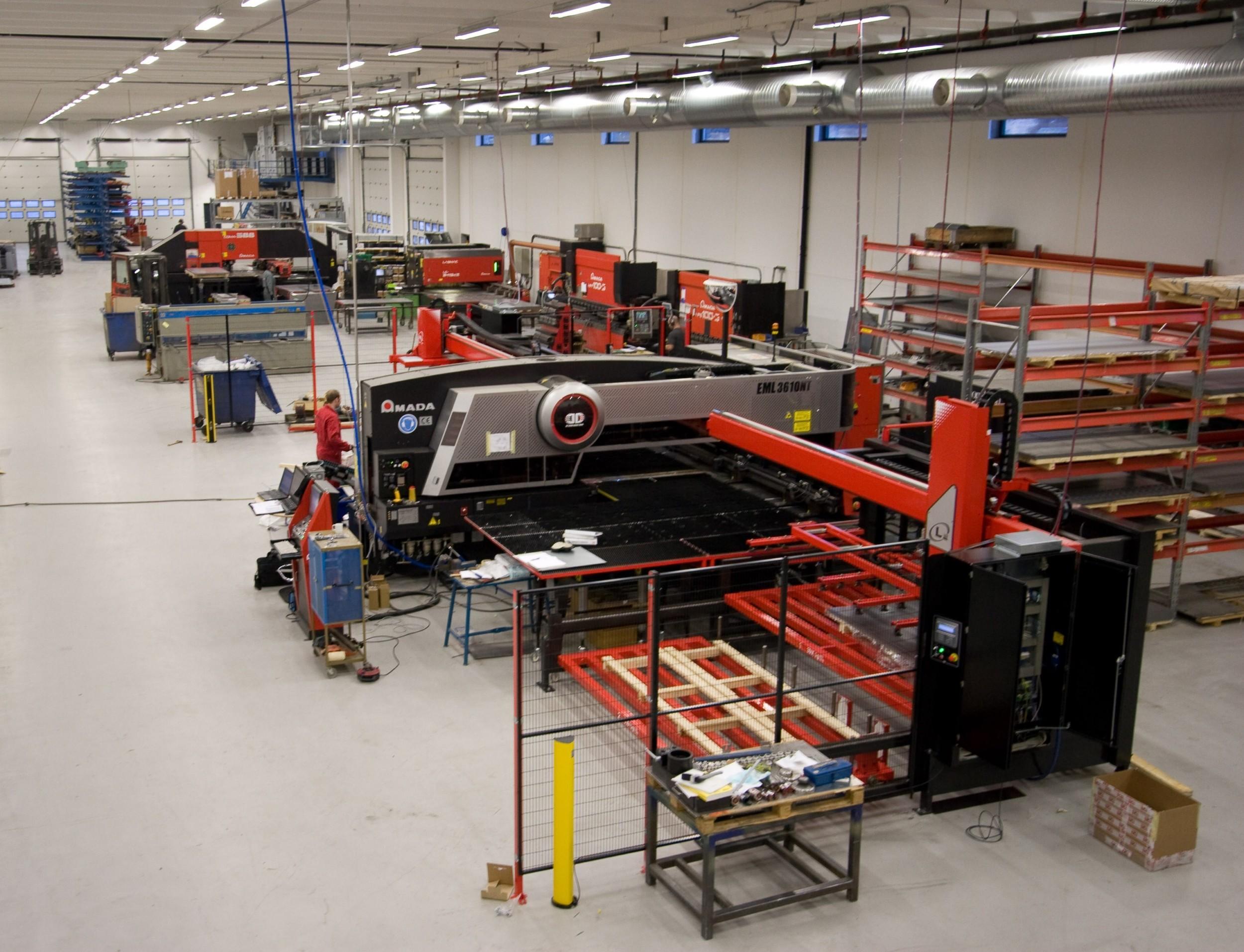Nomek production facilities