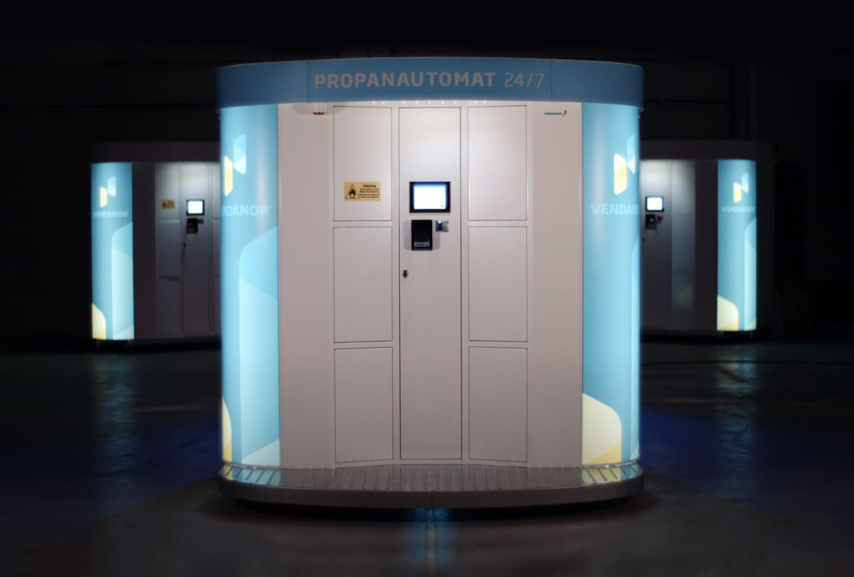 Vendanor Propanautomat