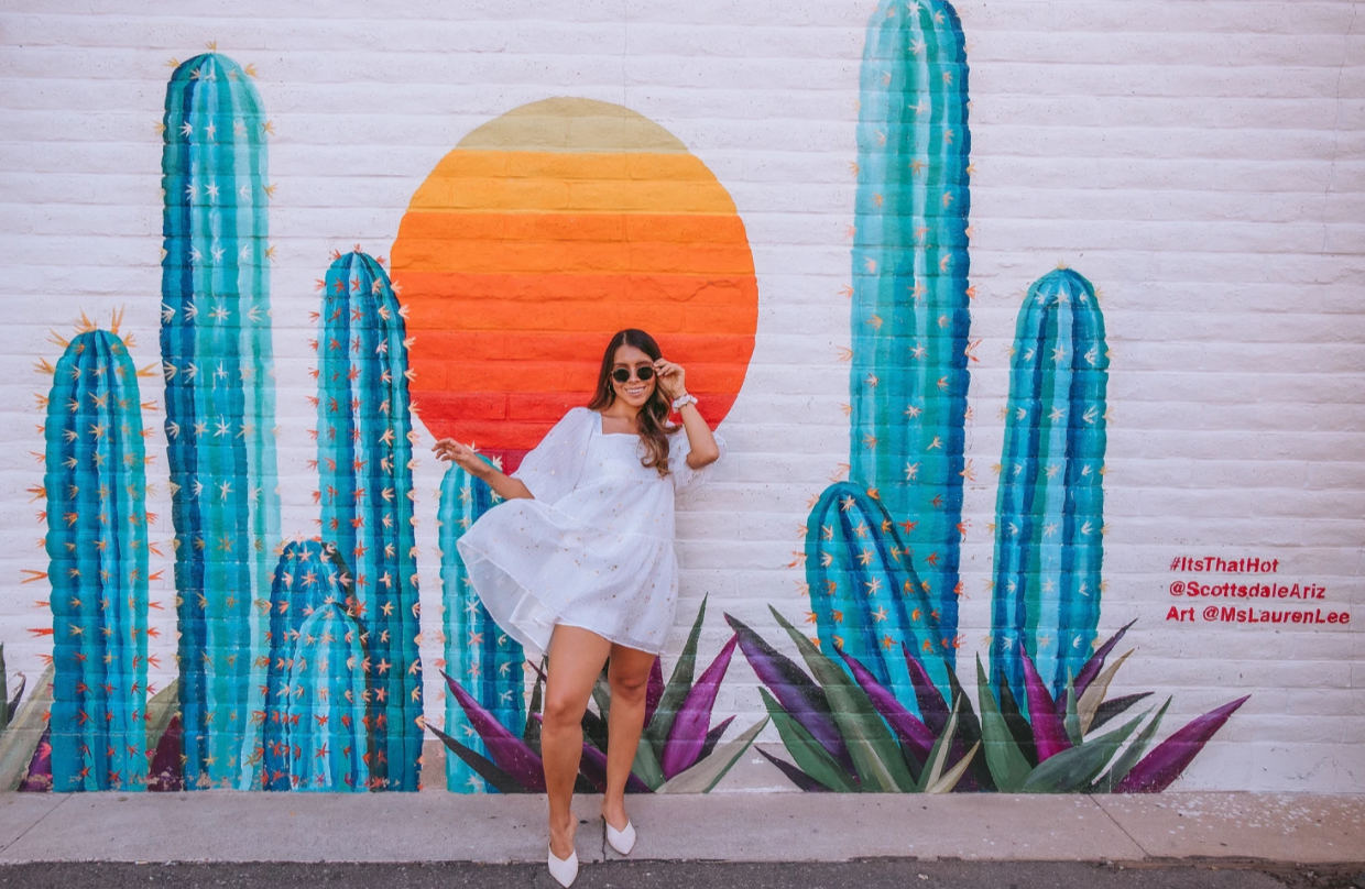 Sandra's Favorite Scottsdale Murals & Photo-Ops