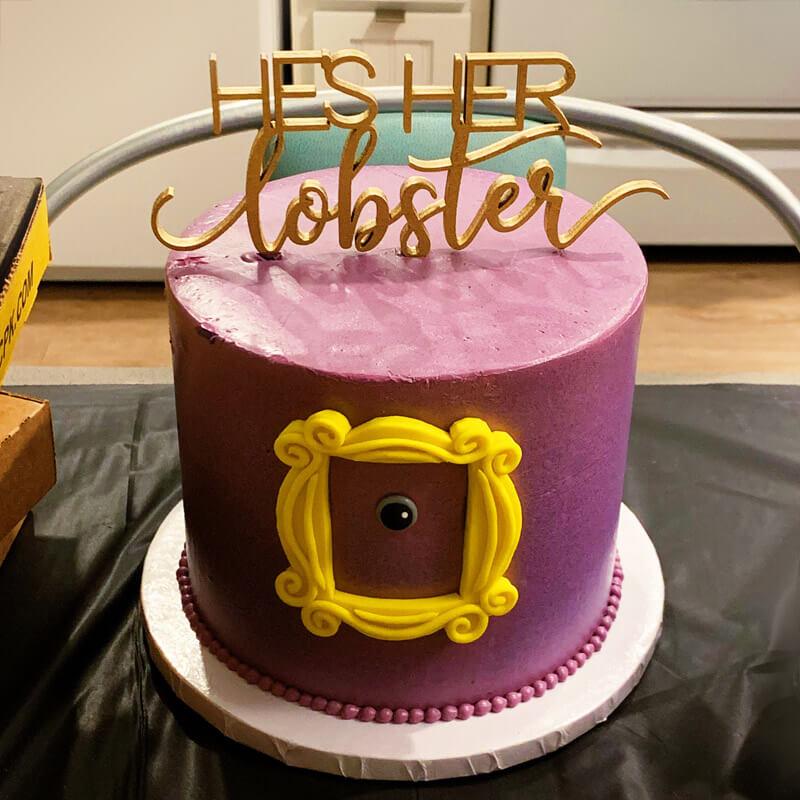 Nostalgic Party Cake