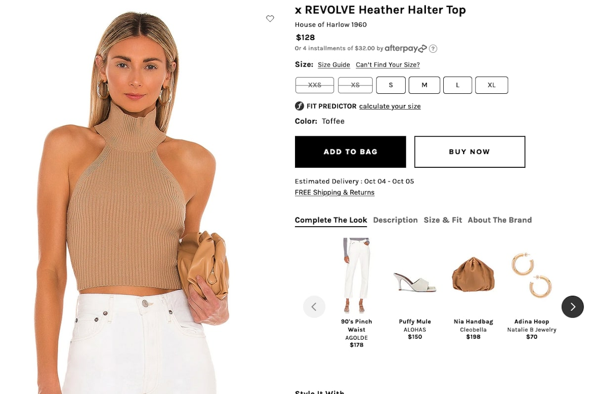Bachelorette party outfits: Heather Halter Top