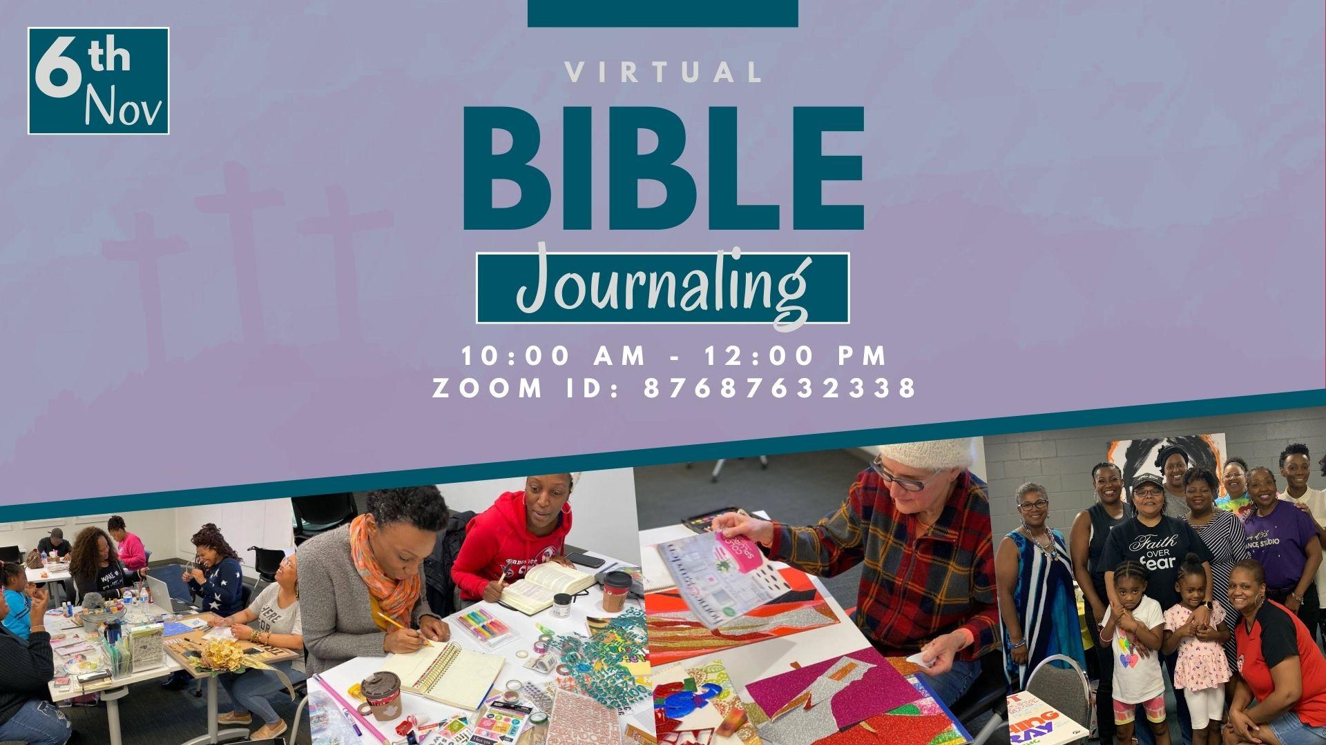 Virtual Bible Journaling