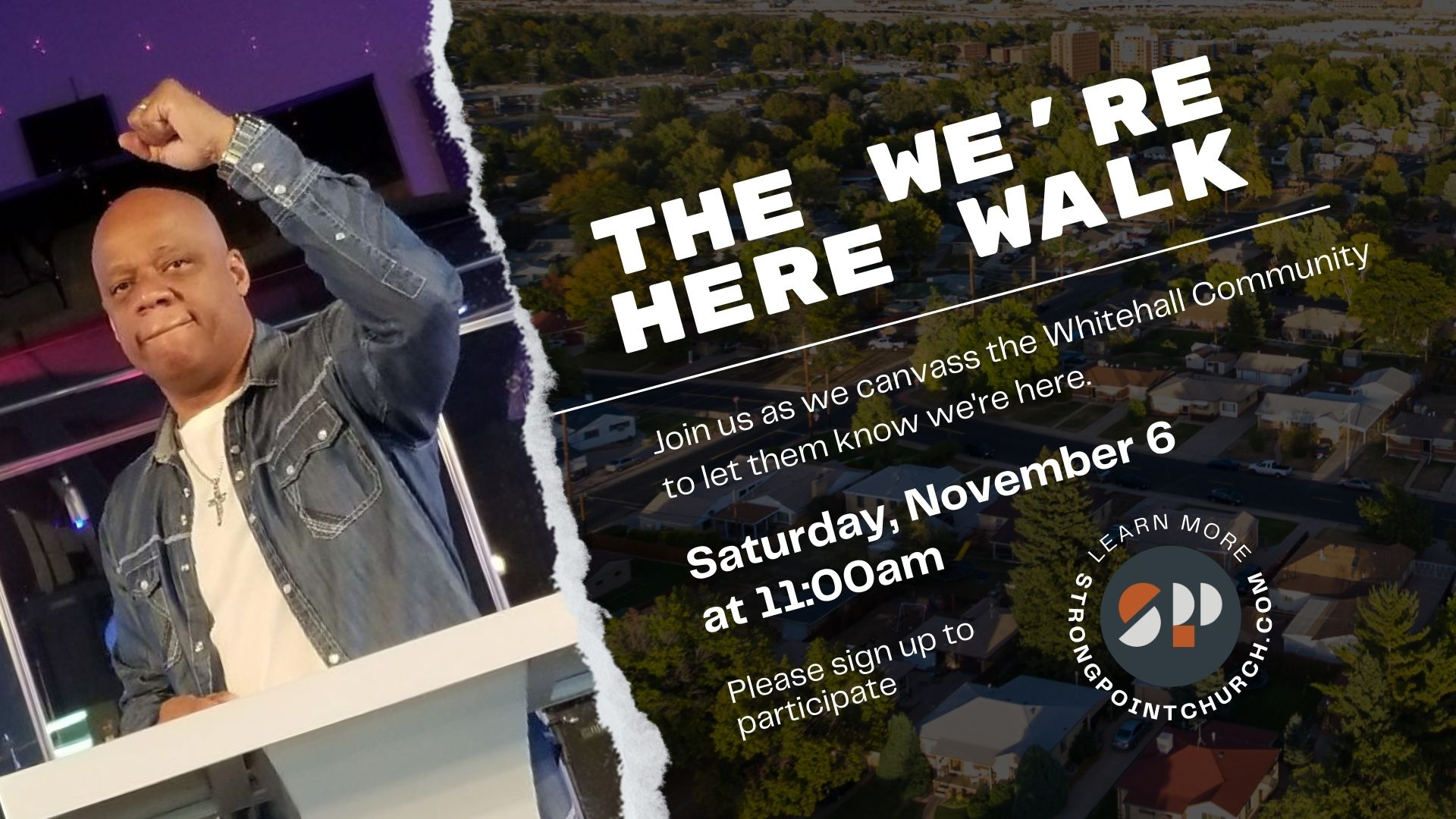 The We're Here Walk