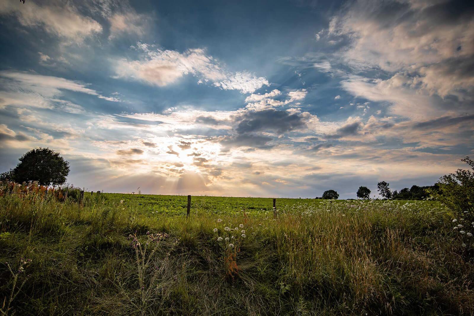 Wolkenlucht Zuid Limburg