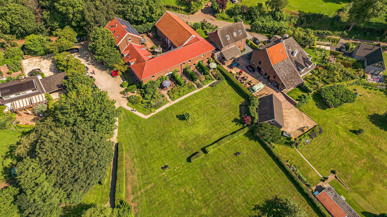Drone Hoeve Zuid Limburg