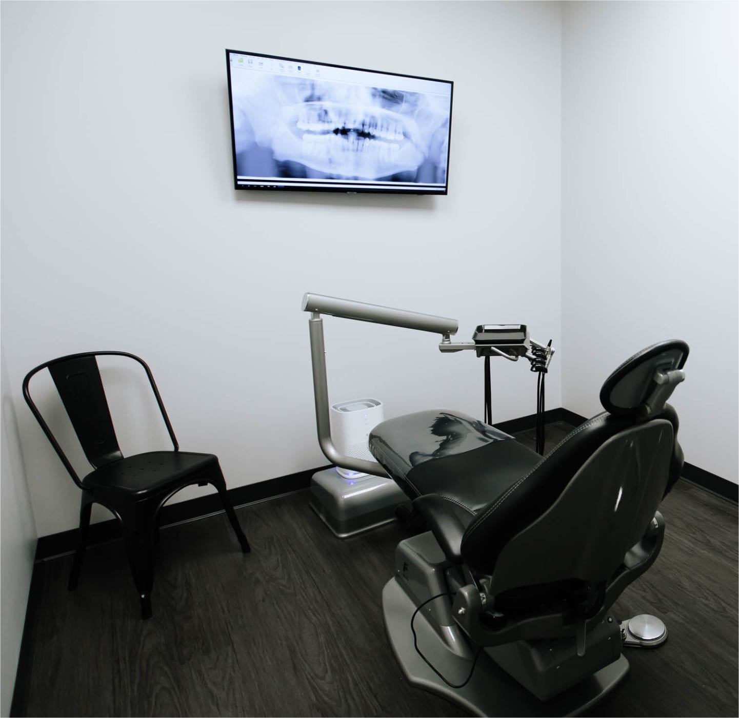 Photo of a dental treatment suite