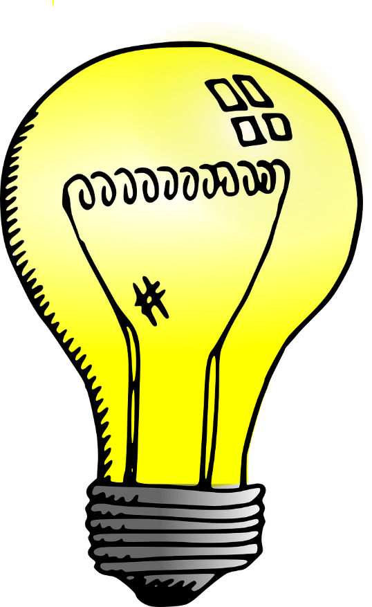 Lightbulb powered by electricity