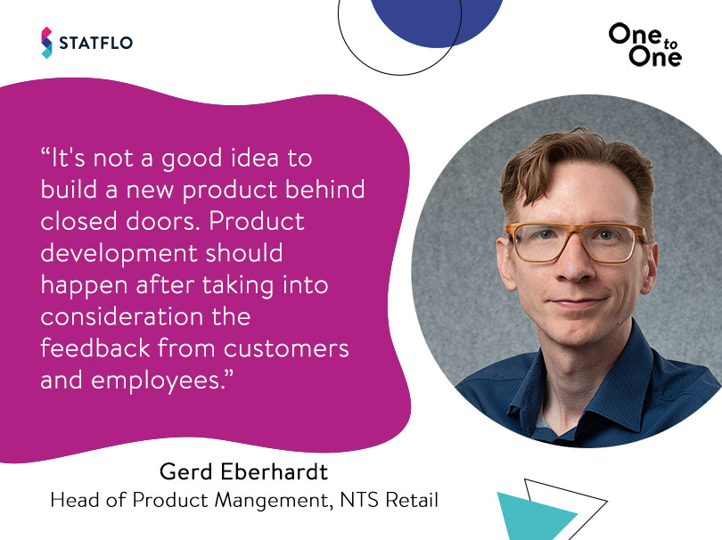 Gerd Eberhardt on customer-focussed product development