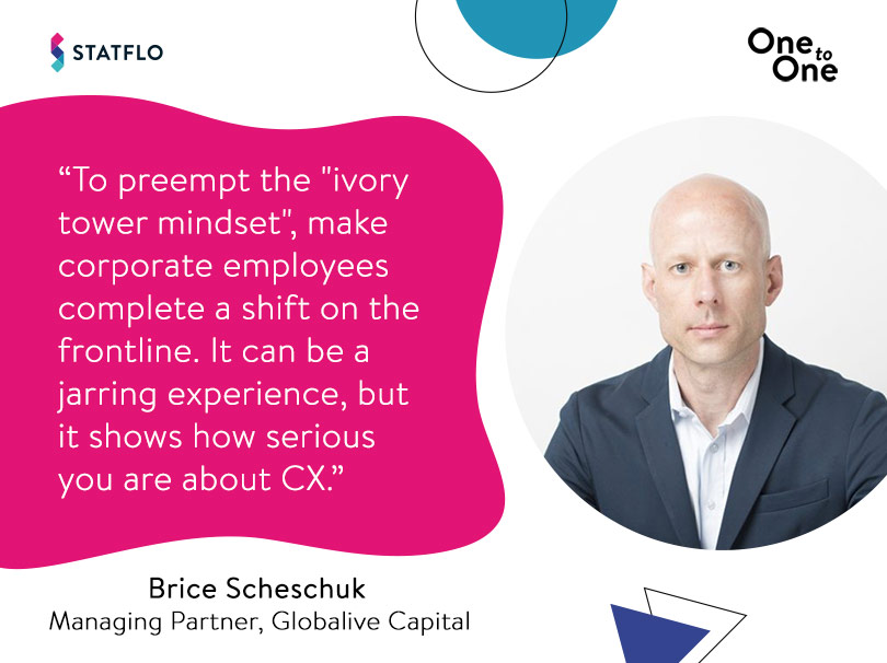Brice Scheschuk on getting corporate employees to focus on customers