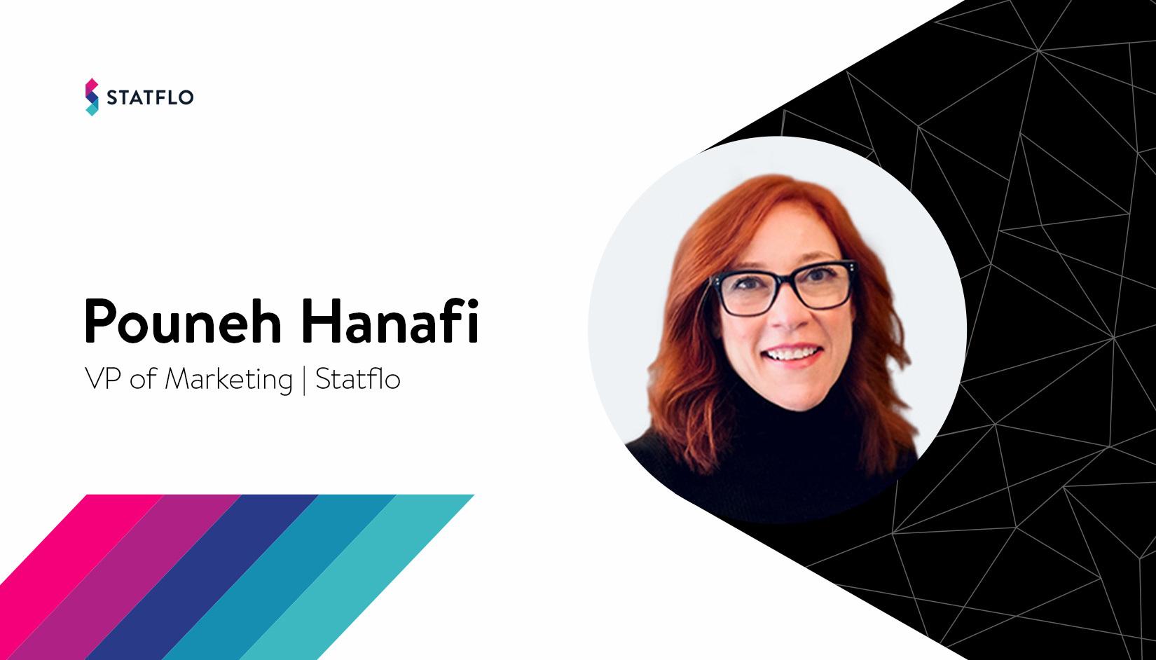 Pouneh Hanafi joins Statflo as VP of Marketing