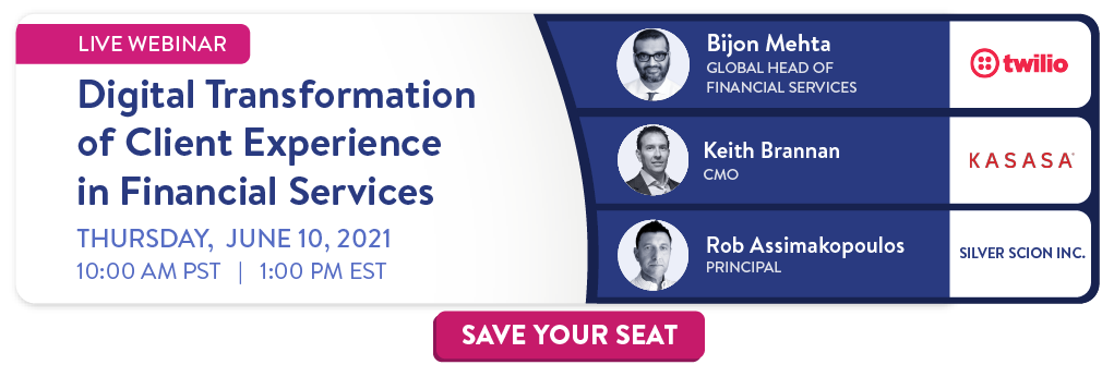 Live webinar: Digital Transformation of Client Experience in Insurance