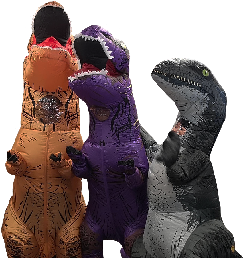 About Statflo and it's adorable dinosaurs