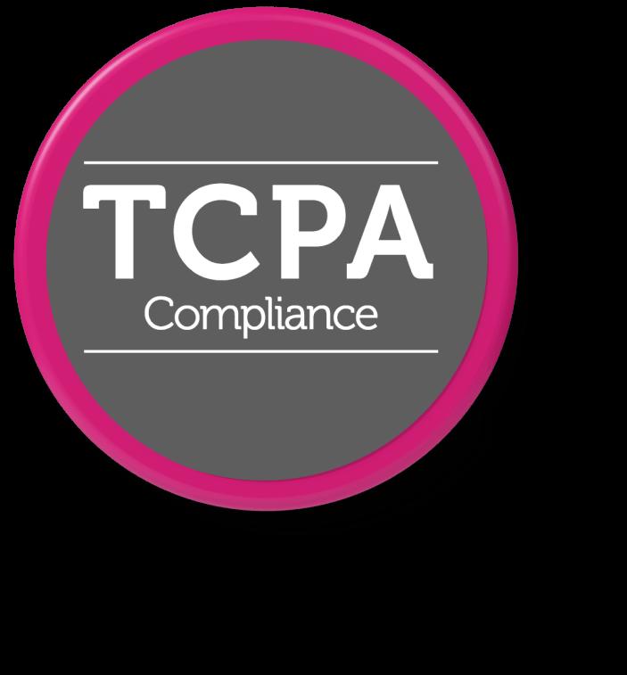 TCPA compliance badge
