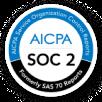 AICPA SOC 2 compliance badge