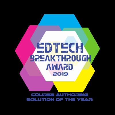 Edtech breakthrough award 2019