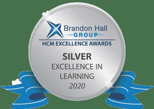 Brandon hall group silver award 2020