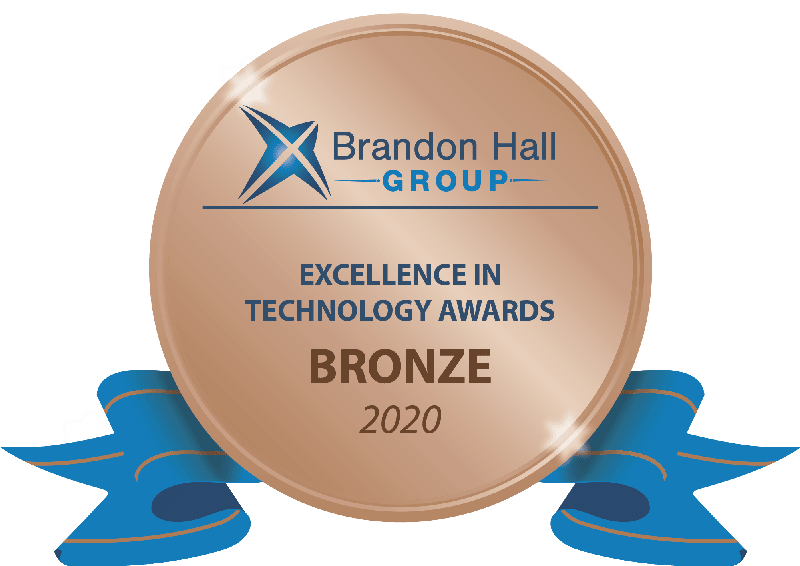 Brandon hall group bronze award 2020