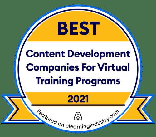 Best content development for virtual training programs