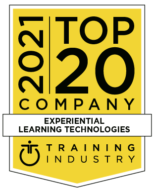 2021 Top 20 company - Experiential learning techologies