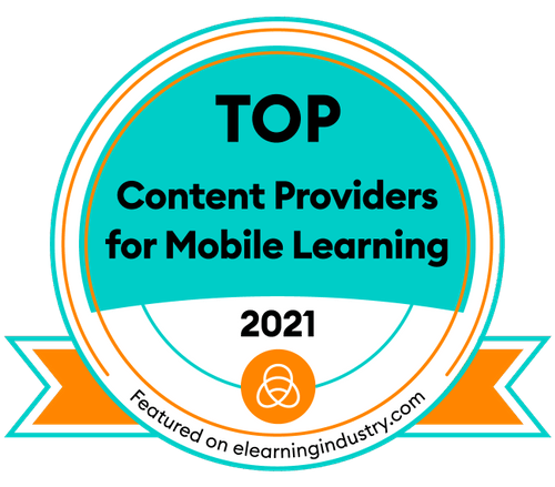 Top content providers for mobile learning award 2021