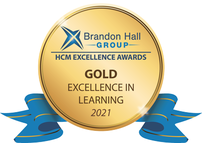 Brandon hall group gold award 2021