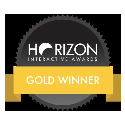 Horizon interactive award - gold winner