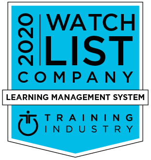 Training industry 2020 award - Learning management system