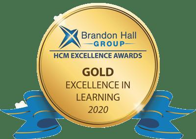Brand hall group gold award 2020