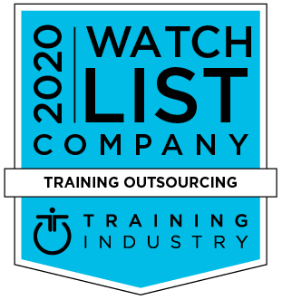 Training industry 2020 award - Training outsourcing