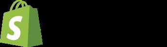 """Shopify"" logo."