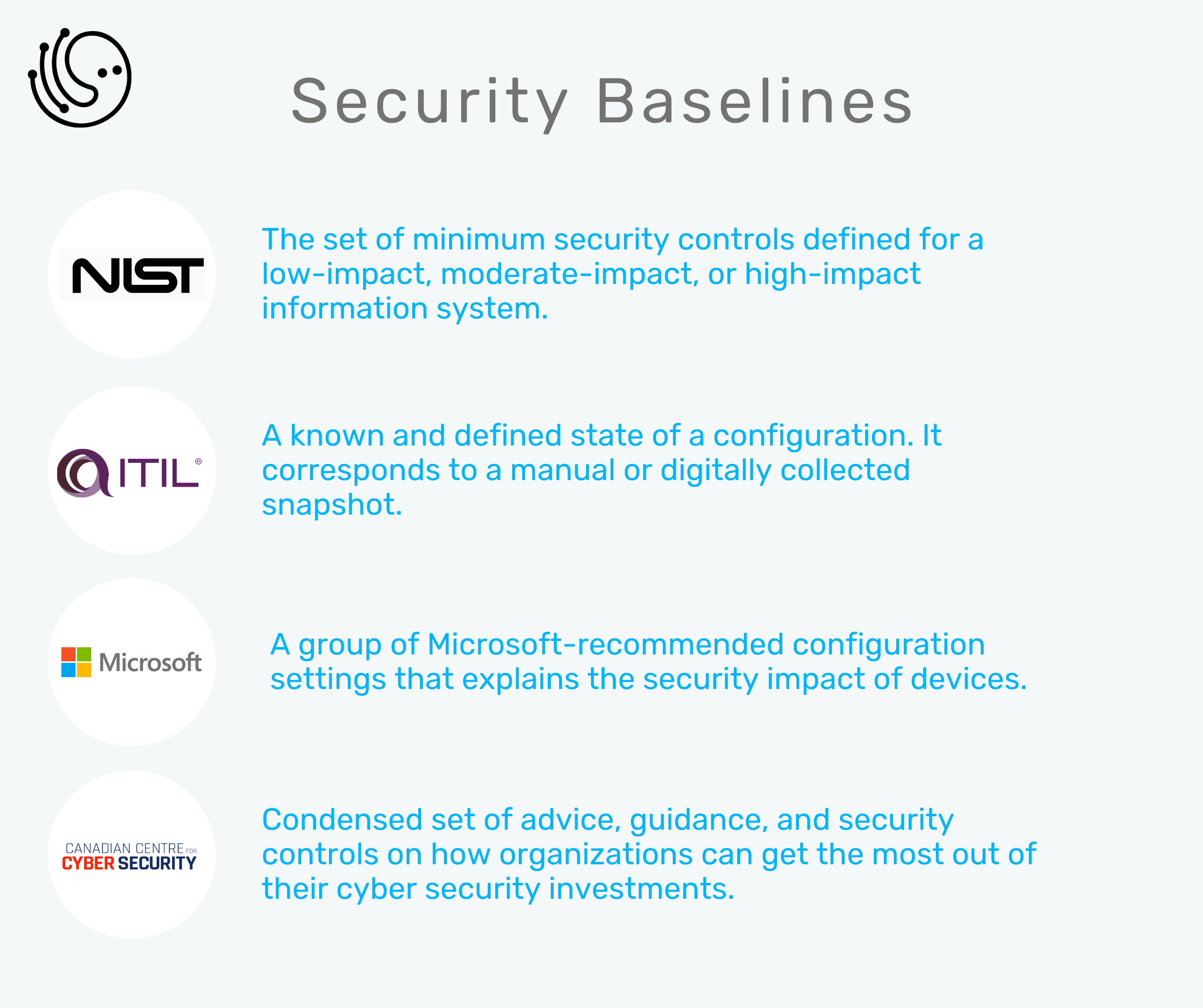 What is security baseline