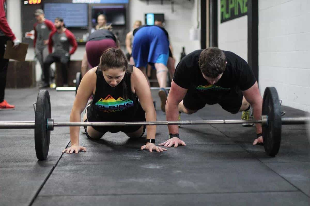CrossFit Class in Wheat Ridge