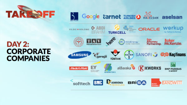 Take Off DAY 2 Corporate Partnership Image