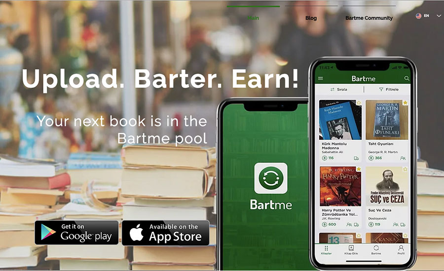 Bartme makes exchange easier by offering an innovative solution for the valuation of items. Semih Kılıçgedik told us about their story.