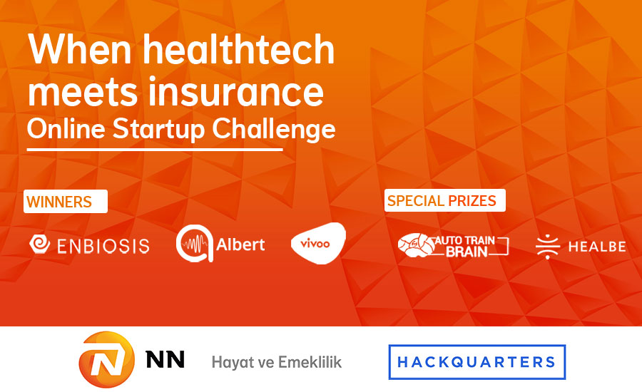 Healthtech and Insurtech Startups in the New Normal: NN Startup Challenge
