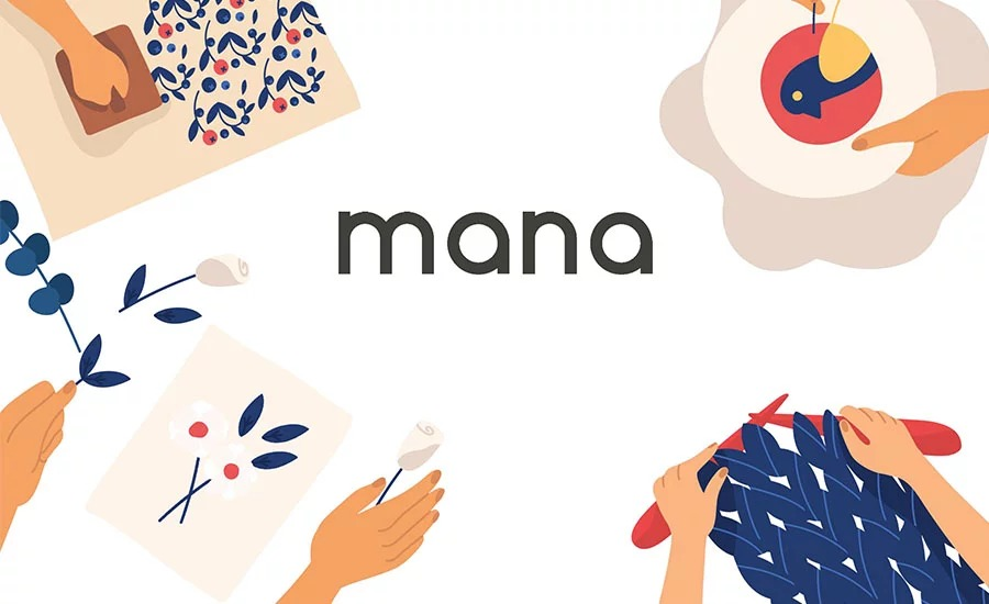 Mana aiming to create a brand of organic and chic accessories. Offering many different products from accessories to decoration. Damla Özenç told about their story.