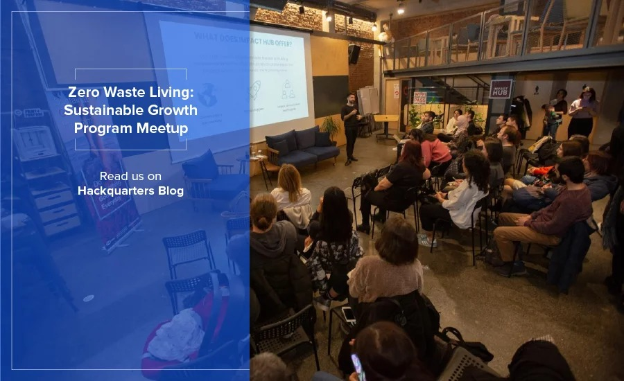"""Sustainable Growth Program implemented in collaboration with HSBC Turkey is going on with all excitement. On our first meetup we explored the issue of """"Zero Waste Living""""."""