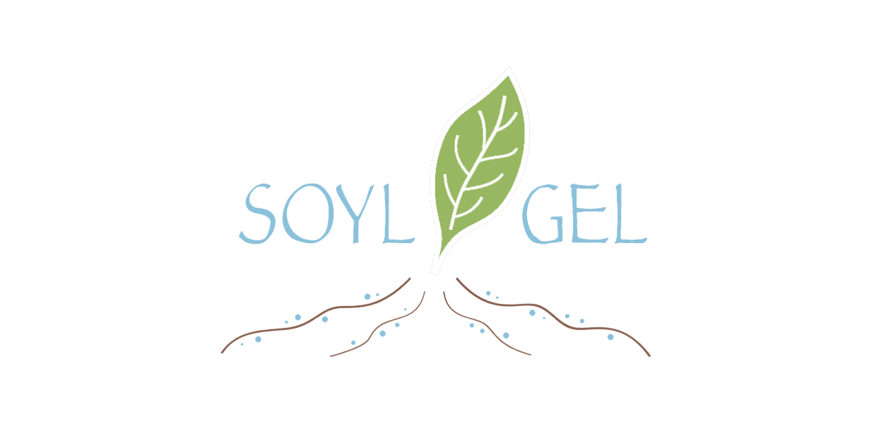 SOYL-GEL, a multifunctional hydrogel for agriculture, supplies water for prolonged times, releases nutrients and pesticides for soil and plant health. From natural nanotubes in its composite structure, it releases necessary fertilizers and pesticides with water.