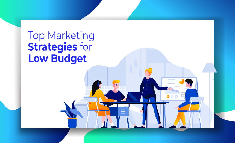 When you don't have large resources to arrange necessary marketing operations, don't be afraid.