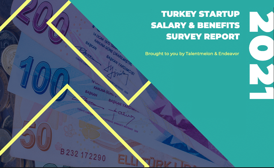 Turkey Startup Salary & Benefits Survey Report by Talentmelon and Endeavor involved 46 companies; whereas 39 of them are scaleups, remaining 7 are at the startup stage.