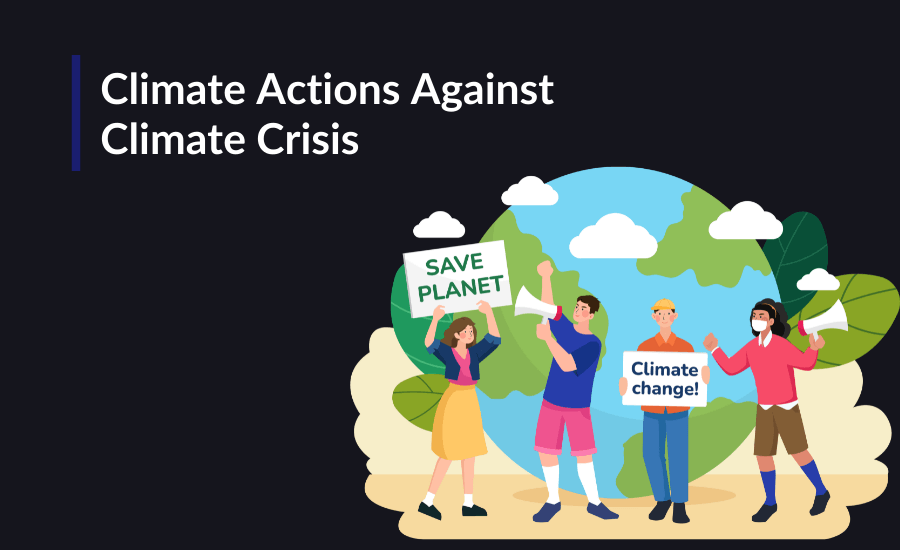 Protecting our planet is up to us so here are some technological advancements like electric vehicles, IoT, and blockchain that can help us combat the climate crisis.