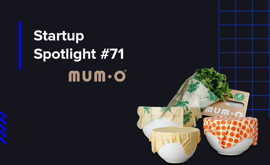 Mumo, one of our alumni startups from Sustainable Growth Program is a storage fabric made from natural ingredients