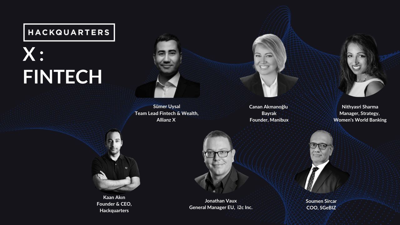 t's been a pleasure for us to arrange the Hackquarters X | Fintech with great panelists ranging from Singapore to the United States on 30 March 2021