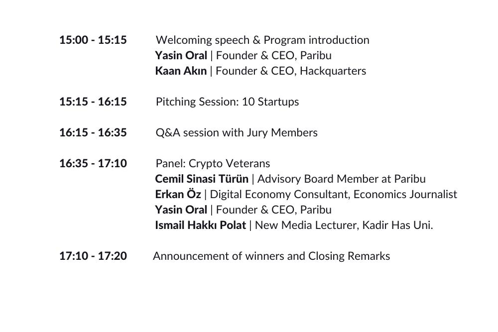 Blockchain Startup Challenge Day