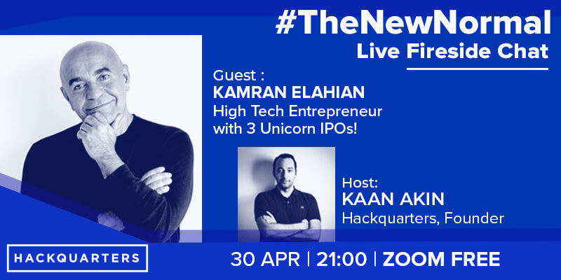 Our first guest Kamran Elahian tech entrepreneur and investor with 3 unicorns and IPOs talks about new trends and #covid-19 transforming businesses.